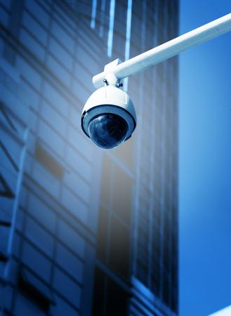 Photo pour Blue monitor camera - image libre de droit