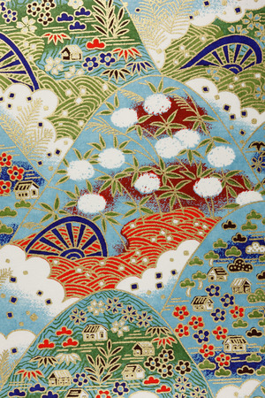 Wallpaper in Japanese style