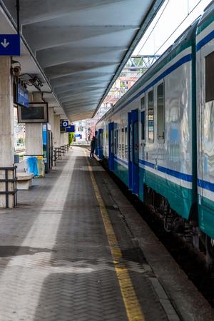 Cinque Terre, Italy train