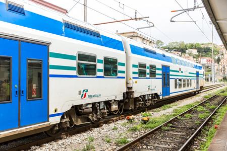 train station in Cinque Terre, Italy