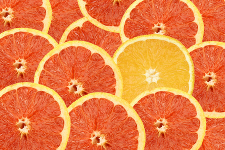 Photo pour red and yellow oranges background - image libre de droit