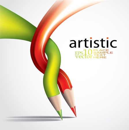Art concept-creative tepmlate
