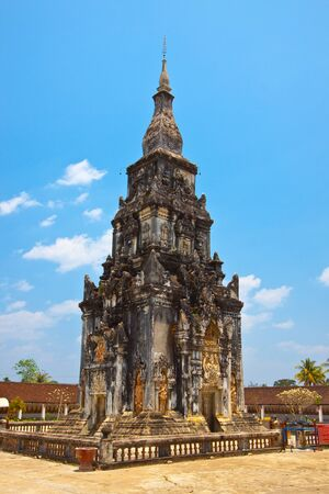 The ancient shine of Lao,Wat Pra Thart Ing Hung