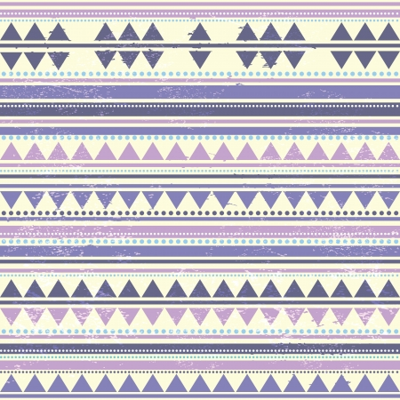 Violet Stripes and Triangles