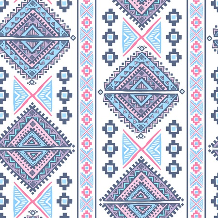 Boho Tribal Pattern Wallpaper