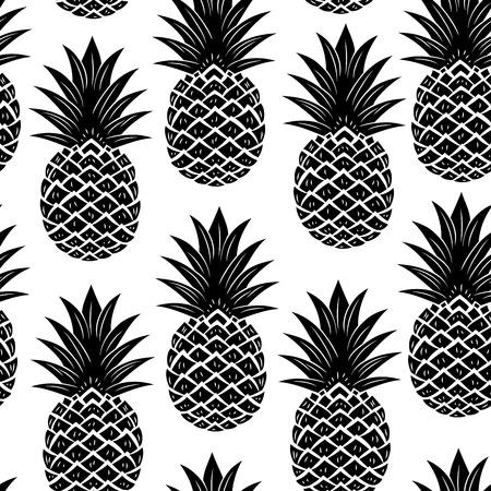 Foto de Vintage pineapple seamless - Imagen libre de derechos