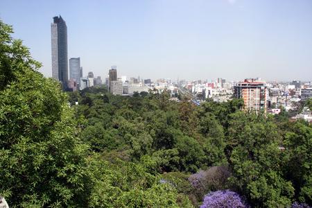 View from Castillo de Chapultepec, Ciudad de Mexico, Mexico