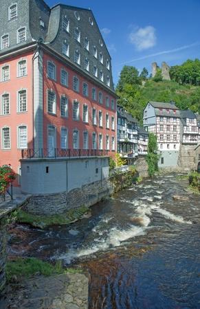 Village of Monschau in Eifel Region,Germany