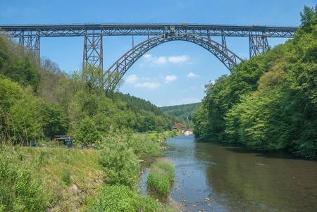 Muengstener Bruecke,germany s highest Railway Bridge