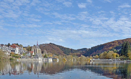 Wuppertal Beyenburg Reservoir,Wupper River,Germany