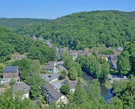 Solingen Unterburg Wupper River Bergisches Land Germany