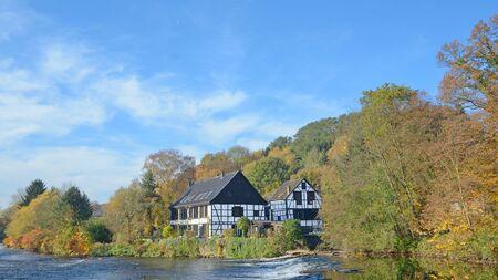 Wupper River,Solingen,Bergisches Land,Germany