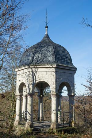 Viewpoint called Diederichstempel in Solingen,Bergisches Land,Germany