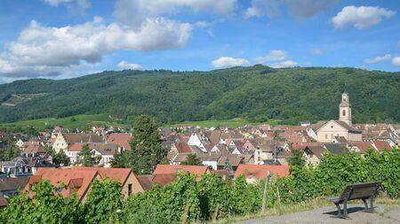 famous Wine Village of Riquewihr in Grand Est region(former Alsace),France