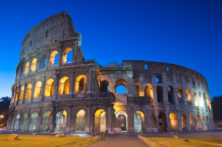 Rome's mighty Coliseum (AD 8
