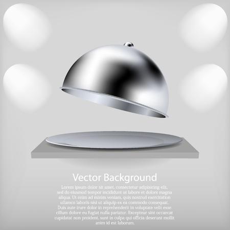 Vektor für vector shelf with a open tray. Best choice - Lizenzfreies Bild