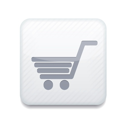 white Shopping icon.