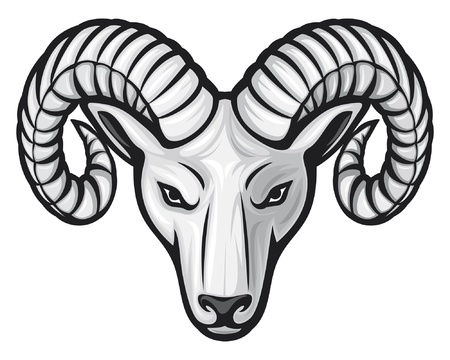 head of the ram (ram head)