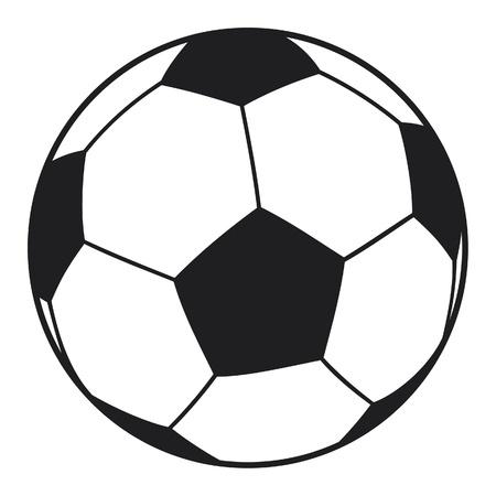 vector football ball (soccer ball)