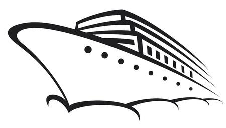 cruise ship (ocean liner, modern liner, ship)