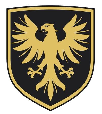 eagle  coat of arms, emblem
