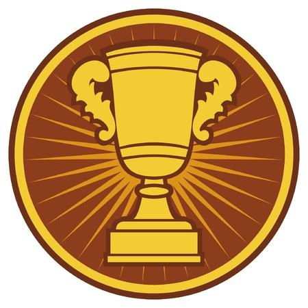 Trophy Cup Symbol (Trophy Cup Icon)