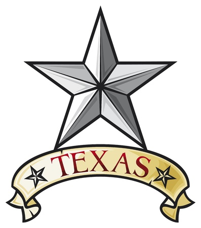 Star - Symbol of the State of Texas  Texas Lone Star