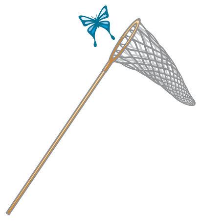 butterfly net  butterfly and net, net for butterflies