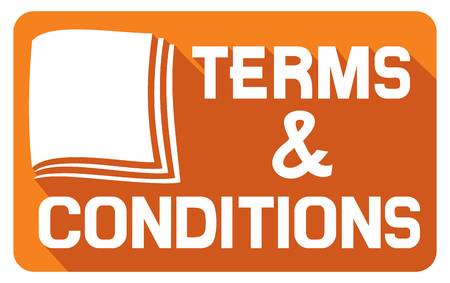 terms and conditions flat icon