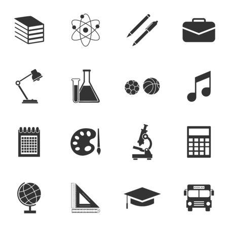 Illustration pour school equipment icon vector design symbol - image libre de droit
