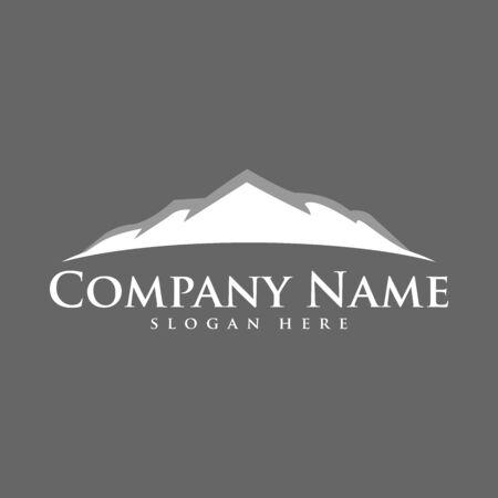 Illustration pour mountain logo icon vector design symbol - image libre de droit