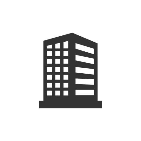 Illustration pour buildings icon vector design symbol - image libre de droit