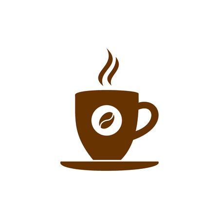 Illustration pour coffee cup icon vector design symbol of cafe or restaurant - image libre de droit