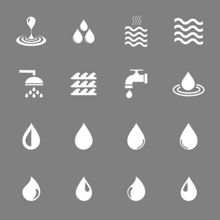 Illustration pour water icon vector design symbol - image libre de droit