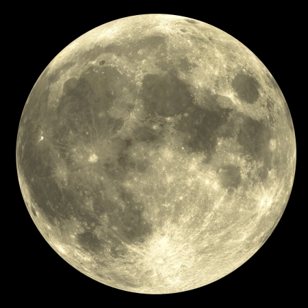 The Full Moon with great detail - very rare.