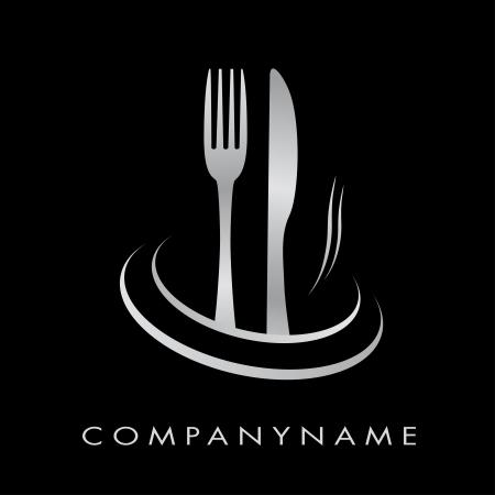 Logo for restaurant, cuisine, company