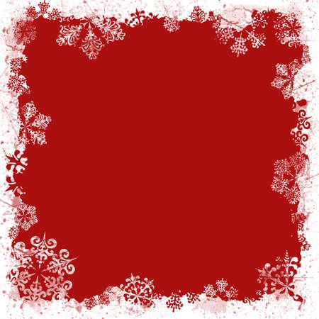 Photo pour Christmas CD Cover Red - image libre de droit