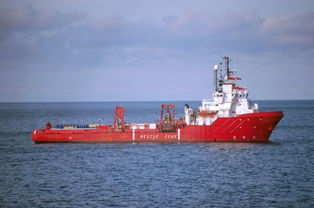 Red Anchor Handling supply vessel in the North Sea