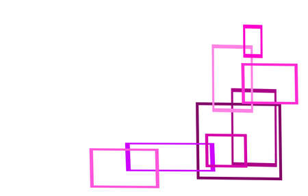 the white area supplemented by colored rectangles
