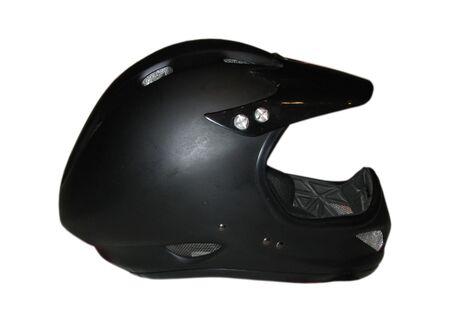 Clear photo of black Cycle fullface helmet