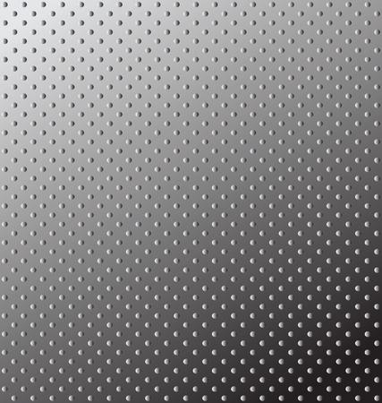 Seamless texture  Relief metal surface  editable illustration