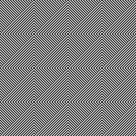 Ilustración de Seamless geometric diagonal texture. Vector art. - Imagen libre de derechos