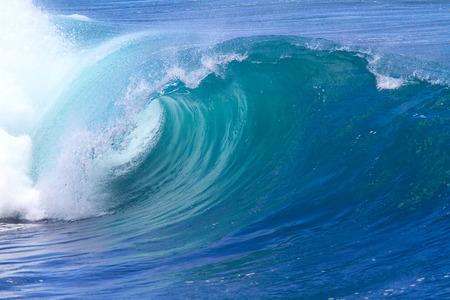 Picture of Ocean Wave. Indian Ocean.