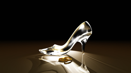Photo pour glass shoes - image libre de droit