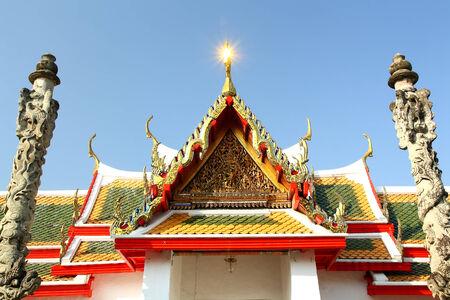 wall surrounding a pagoda