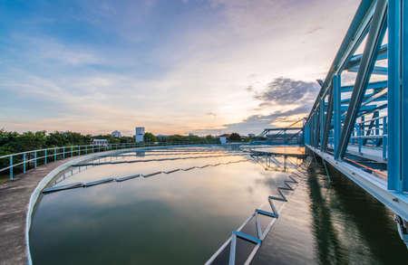 Photo pour water treatment plant - image libre de droit