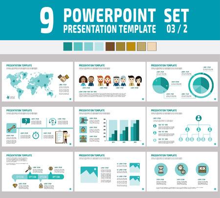 Set Of Powerpoint Multipurpose Business Presentation Template
