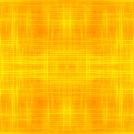 Grunge striped and checkered seamless pattern in yellow and orange colors