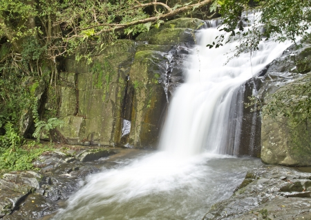 pa la-u waterfall,Prachuab khiri khan province,Thailand