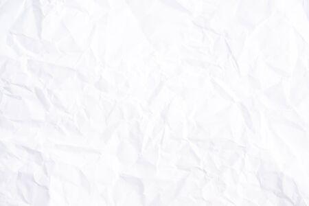 Foto de White creased paper texture background - Imagen libre de derechos
